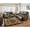 Franklin Montana Power Reclining Living Room Group - Item Number: 7450-8623-12 Living Room Group 1