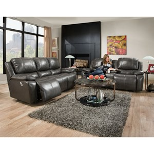 Franklin Montana Power Reclining Living Room Group