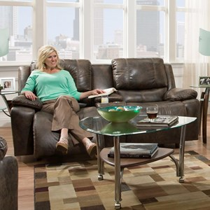 Franklin Montana Power Reclining Loveseat with Power Backrest