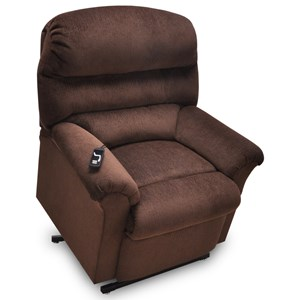 Cosmo Push Back Recliner With Wooden Legs In Contemporary