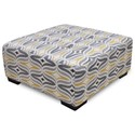Franklin Ottoman Square Cocktail Ottoman - Item Number: 75018-3511-05