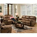 Franklin Richmond Reclining Living Room Group - Item Number: 415 8337-15 Living Room Group 1