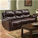 Franklin Richmond Reclining Sofa - Item Number: 41542 LM63-12