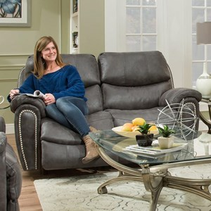 Power Reclining Loveseat with USB Charging