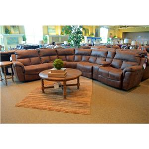 Franklin Stallion Six Piece Power Reclining Sectional