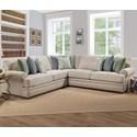 Franklin Surrey Sectional Sofa - Item Number: 85559+04+60-3837-27