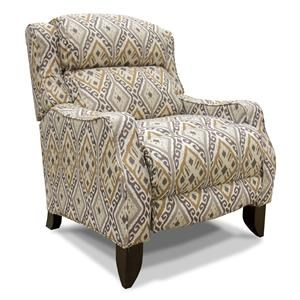 Franklin Tinley Taupe Push Back Recliner