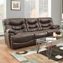 Franklin Touchdown Reclining Sofa - Item Number: 76542-8627-12