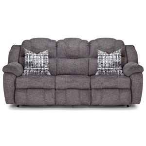 Power Reclining Sofa with Pillows
