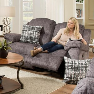 Franklin Victory Rocking Reclining Loveseat