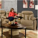 Franklin Wescott Reclining Console Loveseat - Item Number: 44534 7309-23