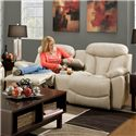 Franklin Wescott Reclining Console Loveseat - Item Number: 44534 LM63-27