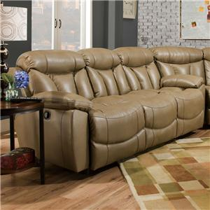 Franklin Wescott Double Reclining Sofa