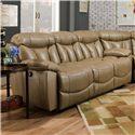 Franklin Wescott Double Reclining Sofa - Item Number: 44542 7309-23
