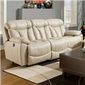 Franklin Wescott Double Reclining Sofa - Item Number: 44542 LM63-27