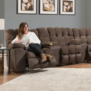 Westwood Reclining Console Loveseat with Cupholders by Franklin