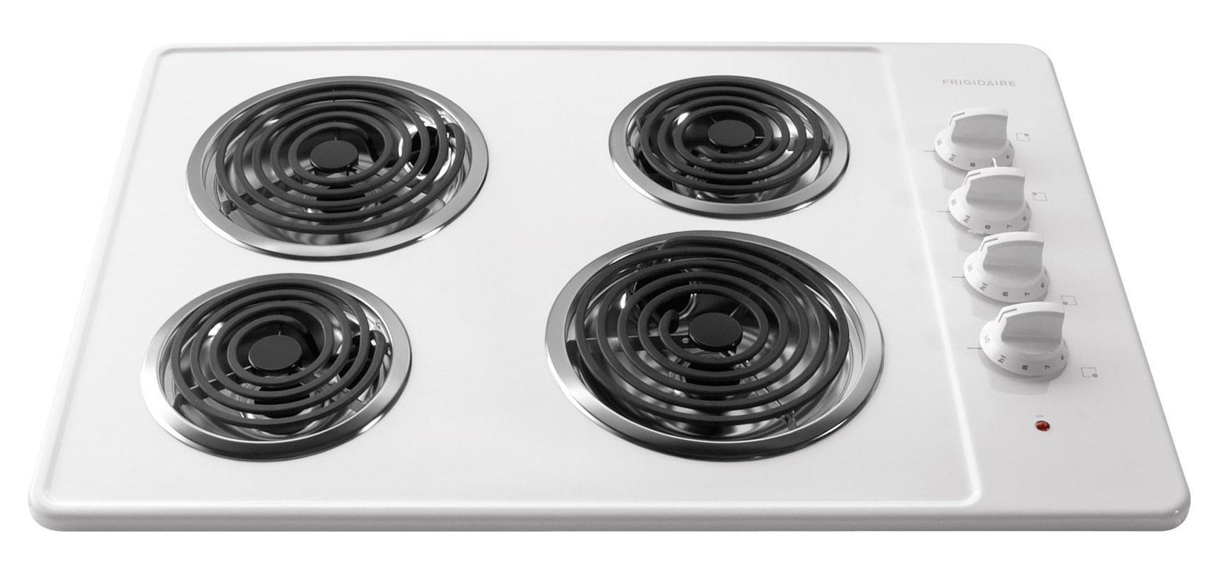 "Frigidaire Electric Cooktops 30"" Built-In Electric Cooktop - Item Number: FFEC3005LW"
