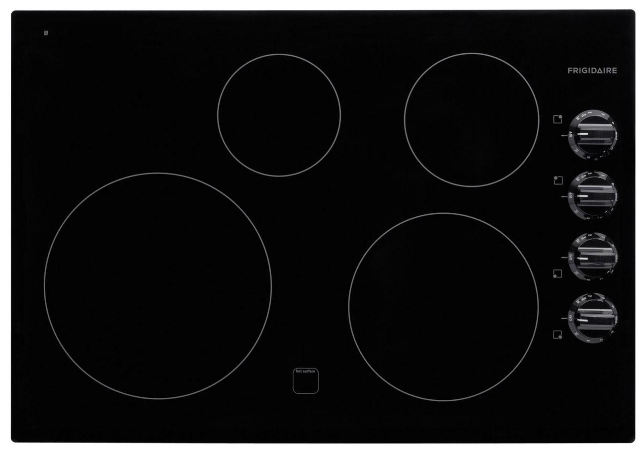 "Frigidaire Electric Cooktops 30"" Built-In Electric Cooktop - Item Number: FFEC3025LB"