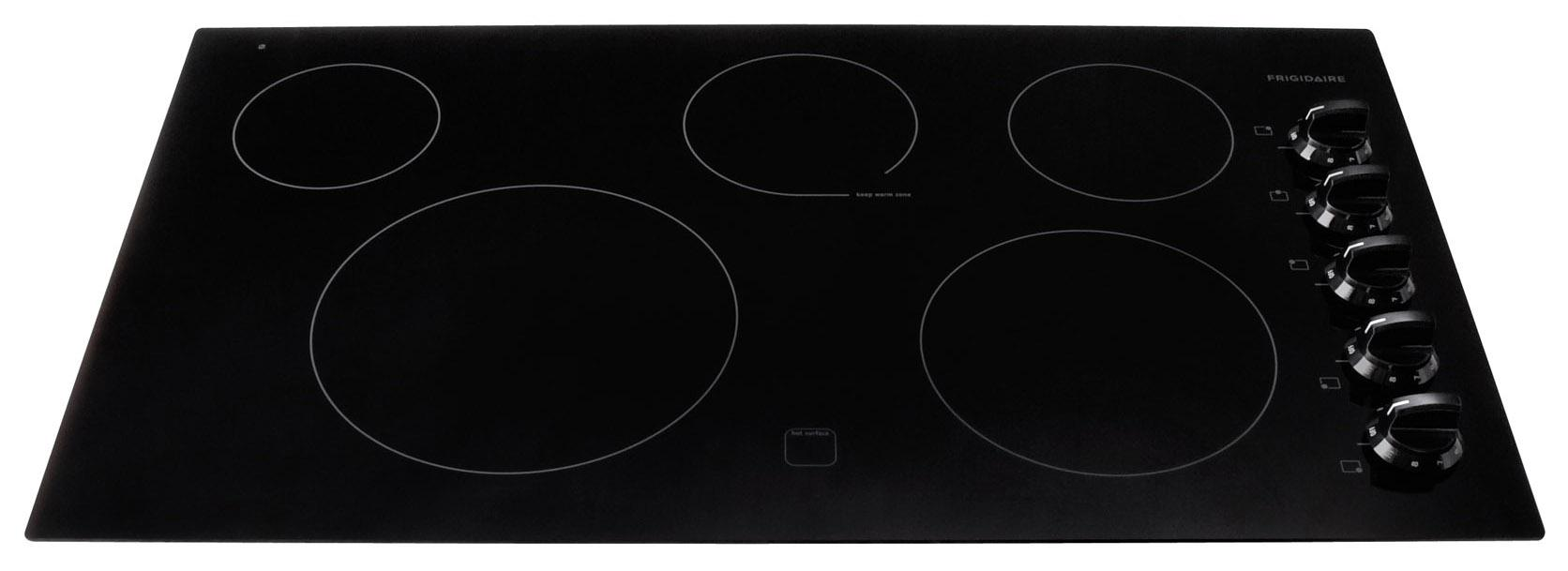 "Frigidaire Electric Cooktops 36"" Built-In Electric Cooktop - Item Number: FFEC3625LB"