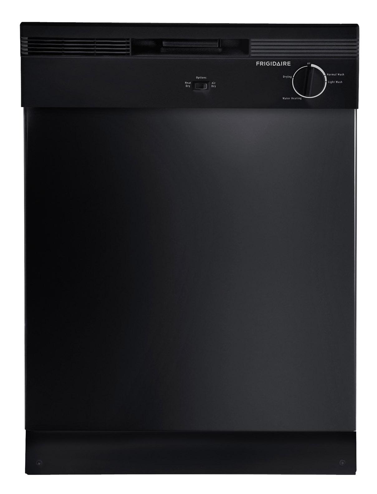"Frigidaire Dishwashers 24"" Built-In Tall Tub Dishwasher - Item Number: FBD2400KB"