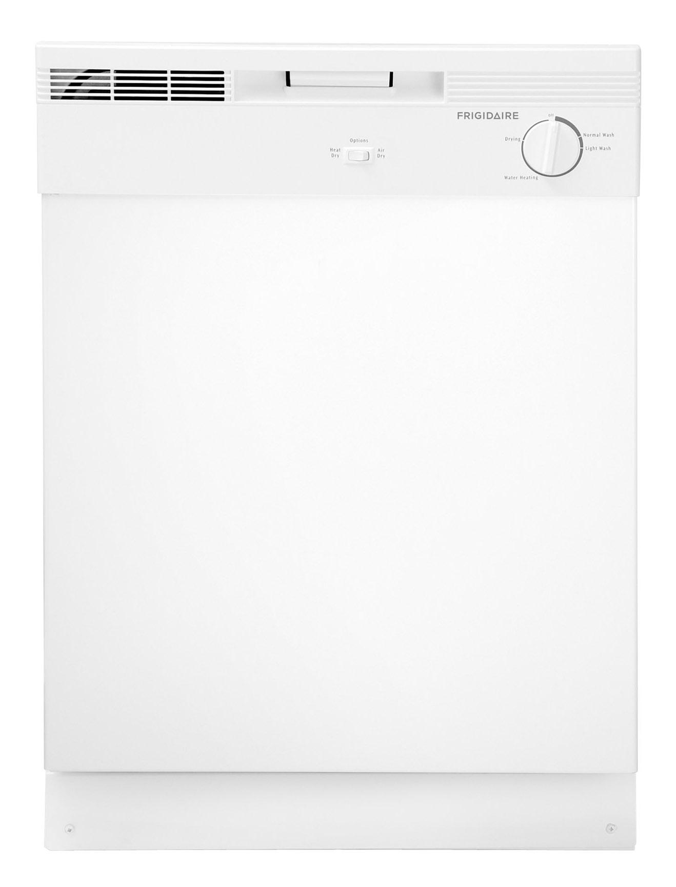 "Frigidaire Dishwashers 24"" Built-In Tall Tub Dishwasher - Item Number: FBD2400KW"
