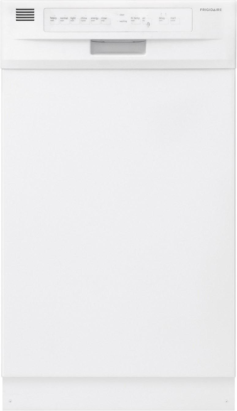 "Frigidaire Dishwashers 18"" Built-In Dishwasher - Item Number: FFBD1821MW"