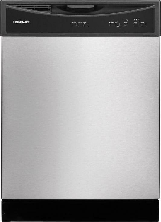 "Frigidaire Dishwashers 24"" Built-In Tall-Tub Dishwasher - Item Number: FFBD2411NS"
