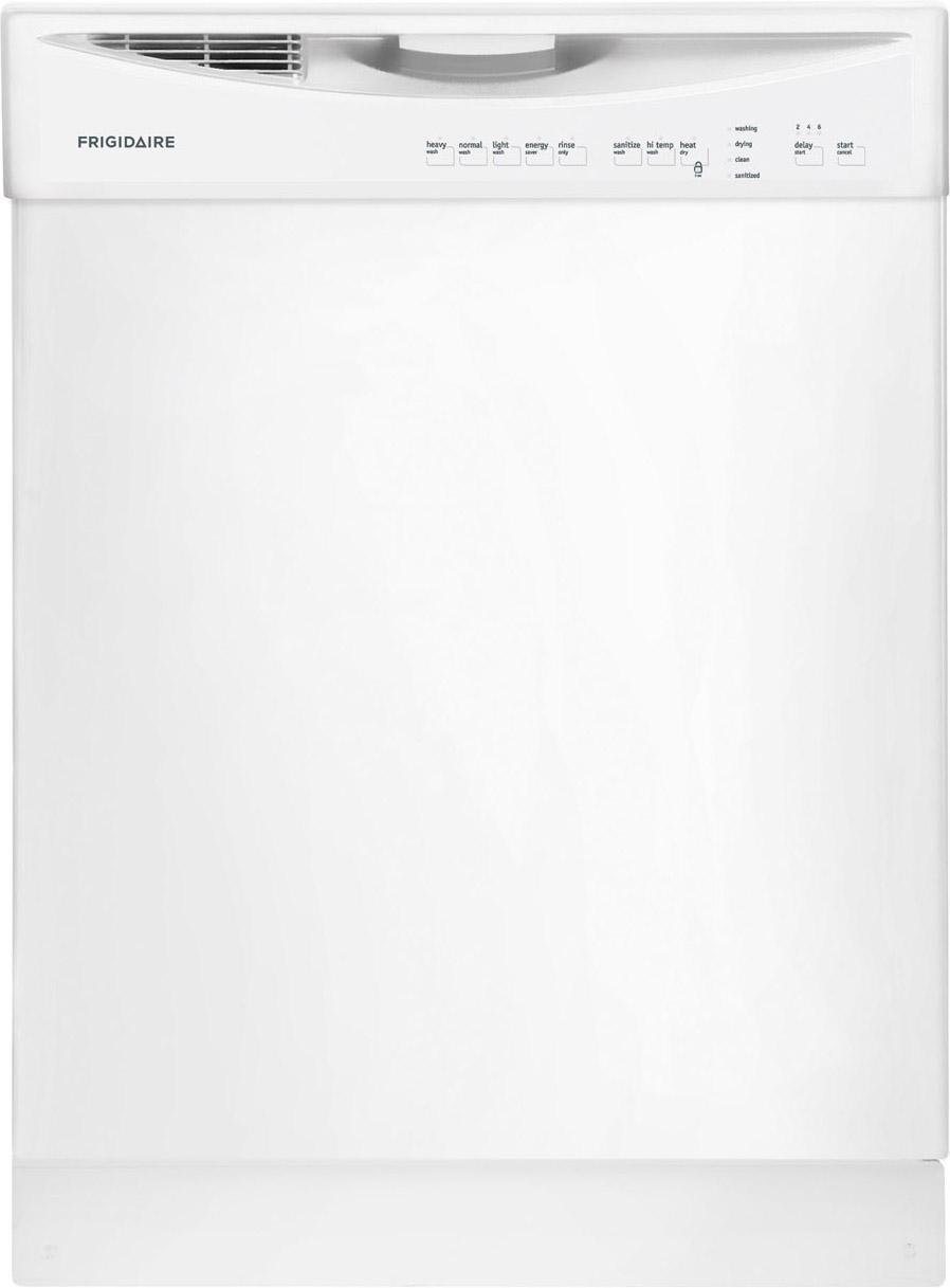 "Frigidaire Dishwashers 24"" Built-In Tall-Tub Dishwasher - Item Number: FFBD2411NW"