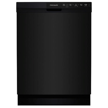 "Frigidaire Dishwashers 24"" Built-In Dishwasher - Item Number: FFBD2412SB"