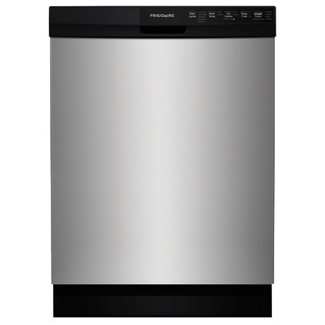 "Frigidaire Dishwashers 24"" Built-In Dishwasher - Item Number: FFBD2412SM"