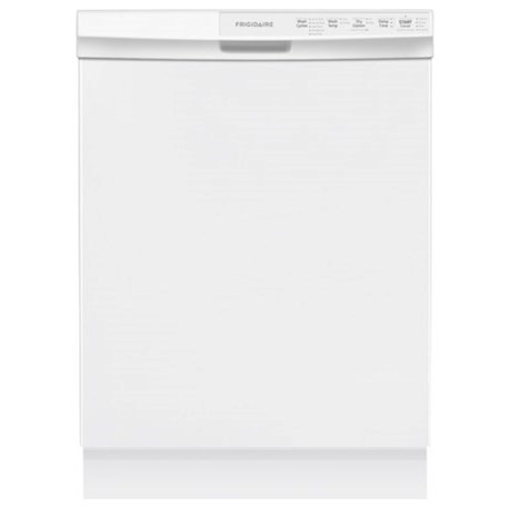 "Frigidaire Dishwashers 24"" Built-In Dishwasher - Item Number: FFBD2412SW"