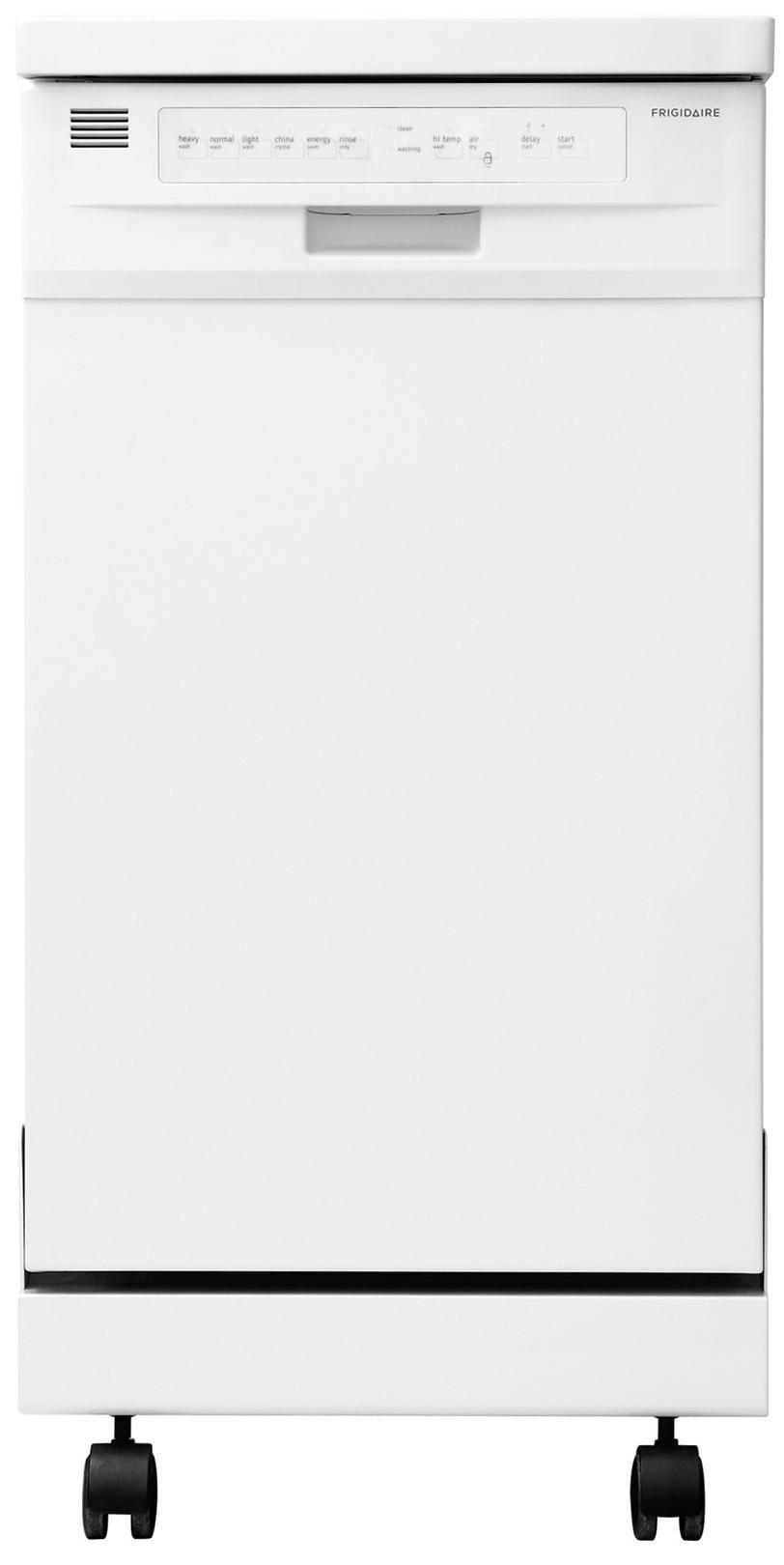 "Frigidaire Dishwashers 18"" Portable Dishwasher - Item Number: FFPD1821MW"