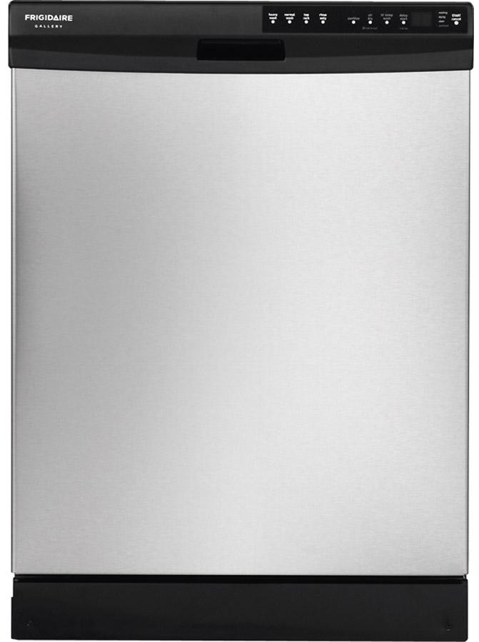 "Frigidaire Frigidaire Gallery Dishwashers 24"" Built-In Dishwasher - Item Number: FGBD2445NF"