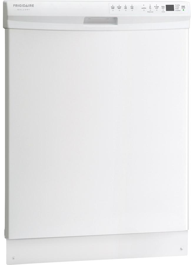 "Frigidaire Frigidaire Gallery Dishwashers 24"" Built-In Dishwasher - Item Number: FGBD2445NW"