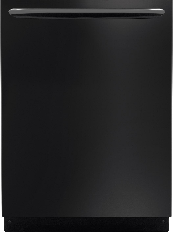 "Frigidaire Frigidaire Gallery Dishwashers 24"" Built-In Dishwasher - Item Number: FGID2474QB"