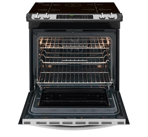 "Frigidaire Dual-Fuel Ranges Gallery 30"" Slide-In Induction Range - Item Number: FGIS3065PF"