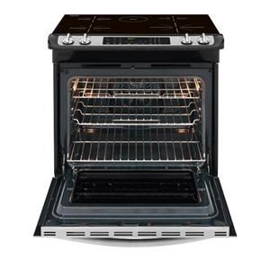"Frigidaire Dual-Fuel Ranges Gallery 30"" Slide-In Induction Range"
