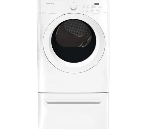 Frigidaire Electric Dryers 7.0 Cu.Ft Electric Dryer - Item Number: FFQE5000QW