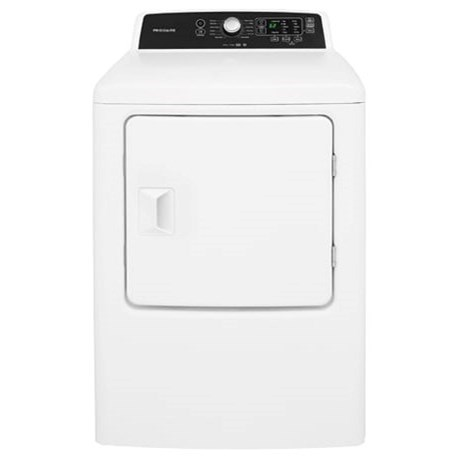 Frigidaire Electric Dryers 6.7 Cu. Ft. Free Standing Electric Dryer - Item Number: FFRE4120SW