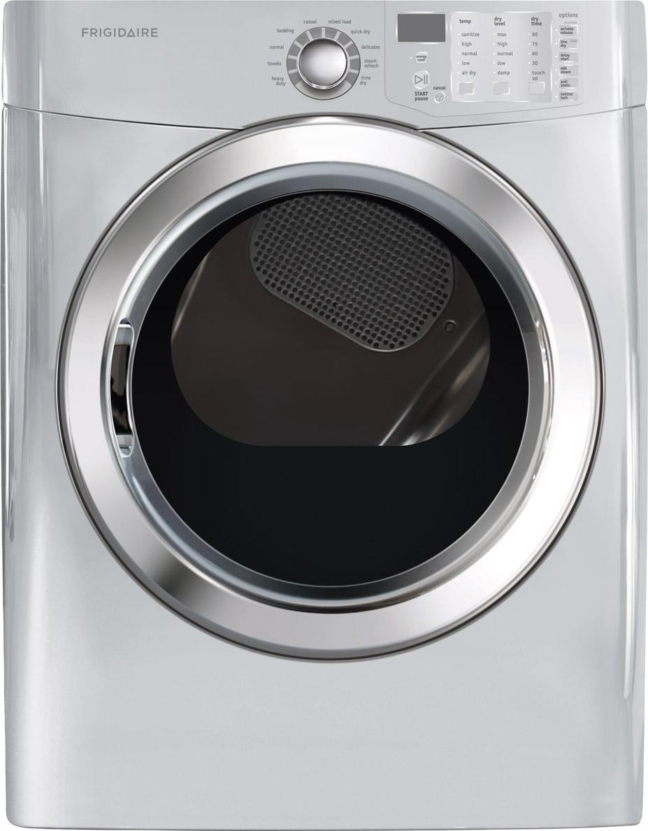 Frigidaire Electric Dryers 7.0 Cu.Ft. Front Load Electric Dryer - Item Number: FFSE5115PA