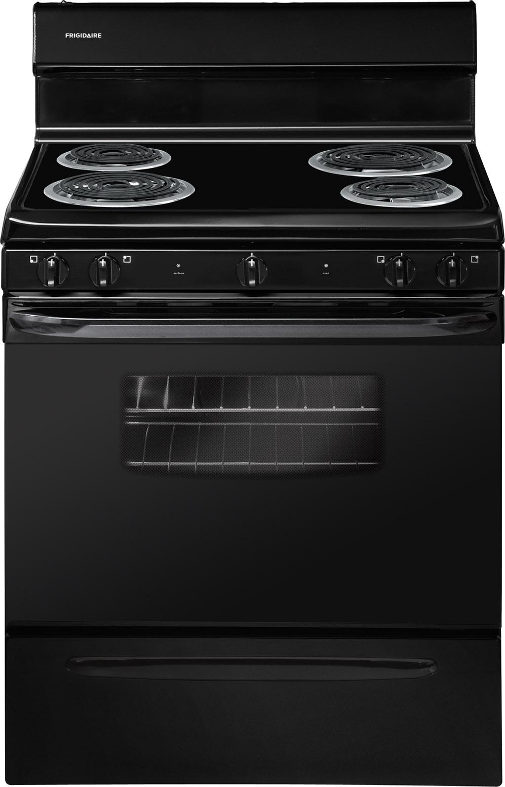 "Frigidaire Electric Range 30"" Freestanding Electric Range - Item Number: FFEF3009PB"