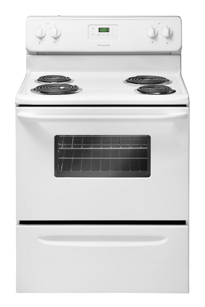 "Frigidaire Electric Range 30"" Freestanding Electric Range - Item Number: FFEF3011LW"