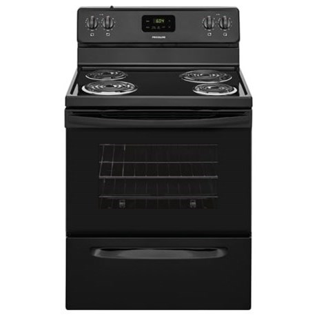 "Frigidaire Electric Range 30"" Electric Range - Item Number: FFEF3012TB"