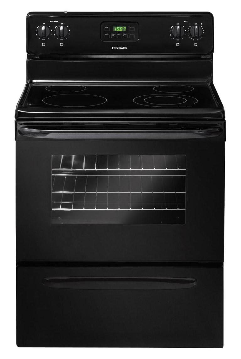 "Frigidaire Electric Range 30"" Freestanding Electric Range - Item Number: FFEF3013LB"