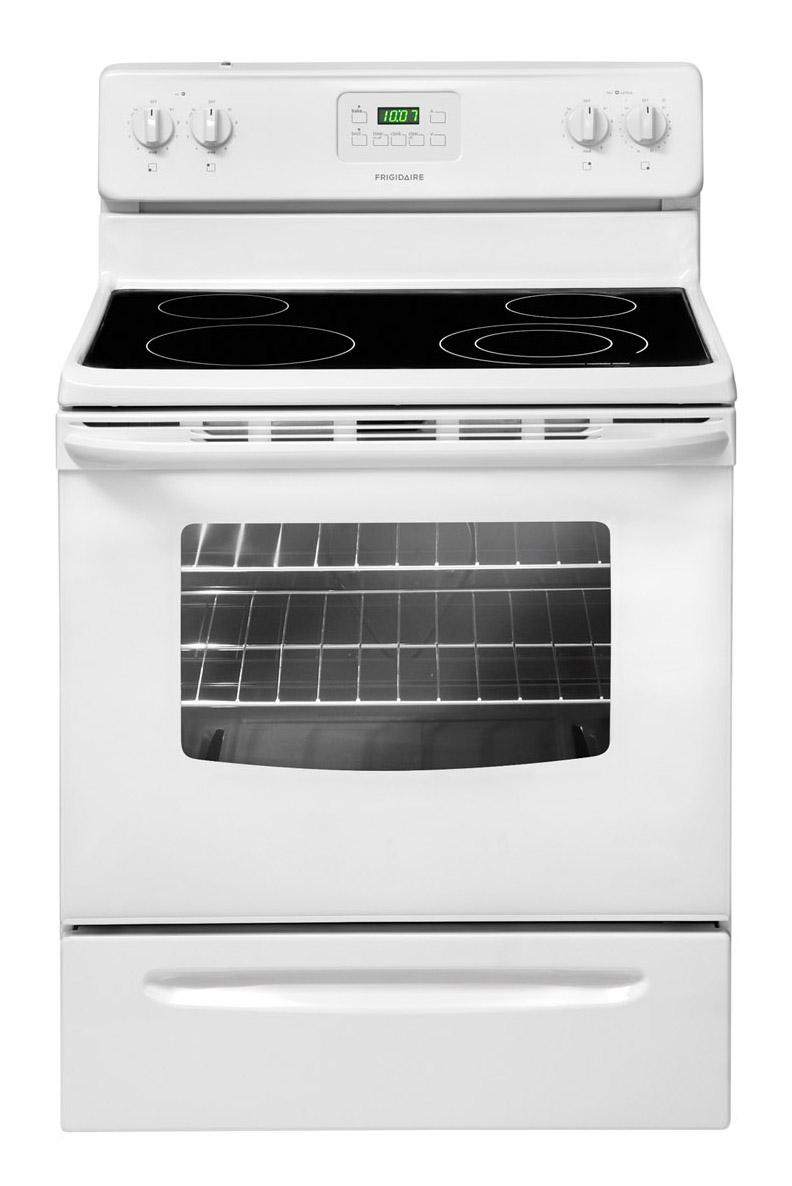 "Frigidaire Electric Range 30"" Freestanding Electric Range - Item Number: FFEF3013LW"