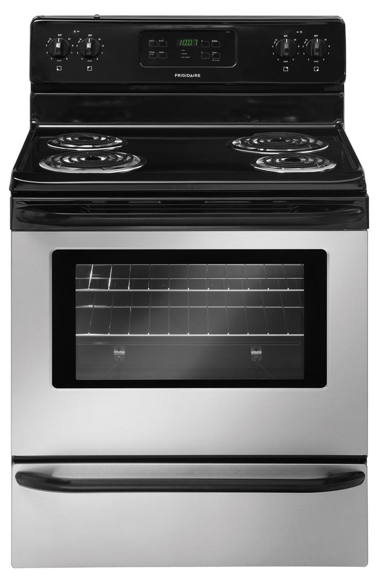 "Frigidaire Electric Range 30"" Freestanding Electric Range - Item Number: FFEF3015LS"
