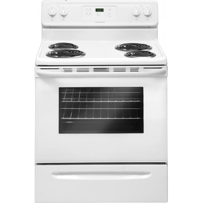 Frigidaire Electric Range 30'' Freestanding Electric Range - Item Number: FFEF3015PW