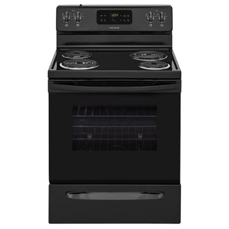 "Frigidaire Electric Range 30"" Electric Range - Item Number: FFEF3016TB"