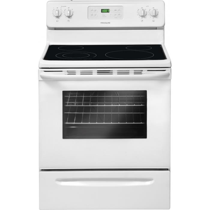 Frigidaire Electric Range 30'' Freestanding Electric Range - Item Number: FFEF3018LW