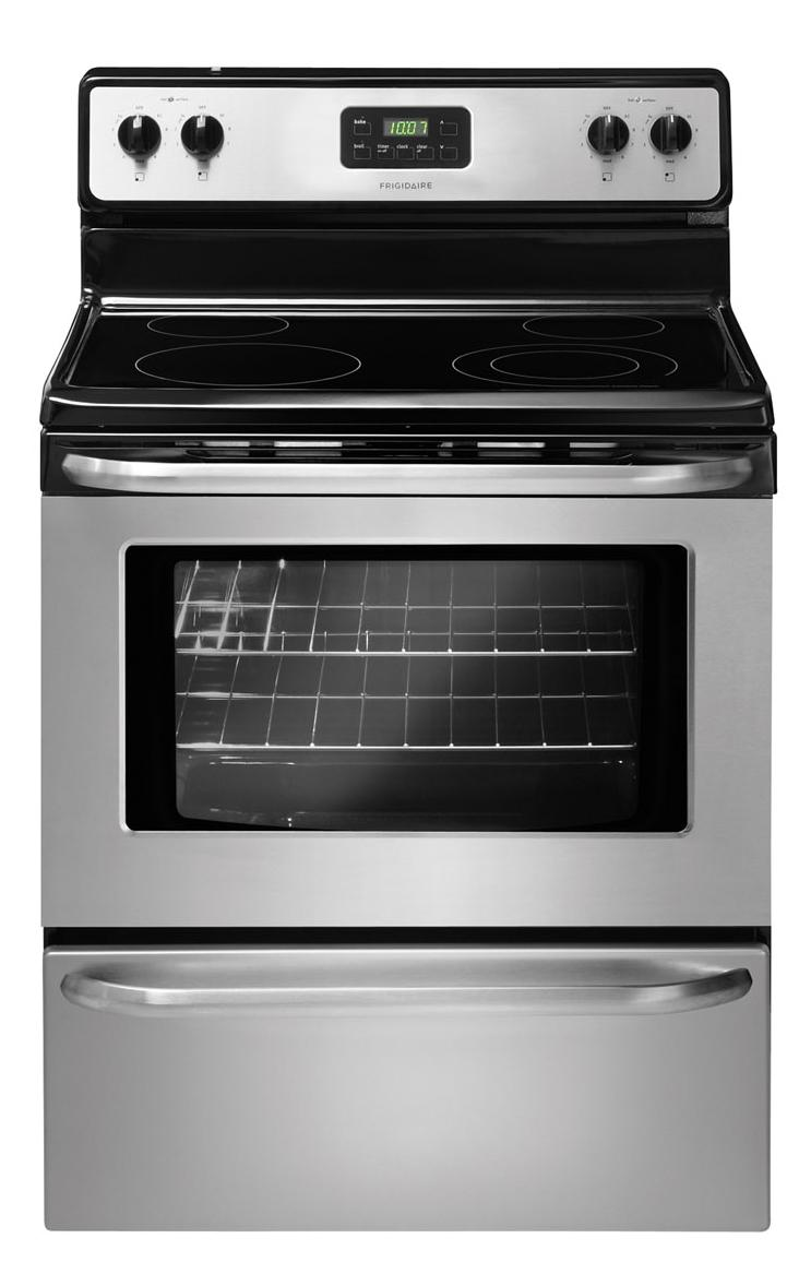 "Frigidaire Electric Range 30"" Freestanding Electric Range - Item Number: FFEF3043LS"